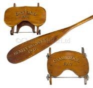 TWO OXFORD & CAMBRIDGE SLIDING SEATS