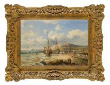 JOHN H. 'JOCK' WILSON (BRITISH, 1774–1855): Beached Fishing Boats