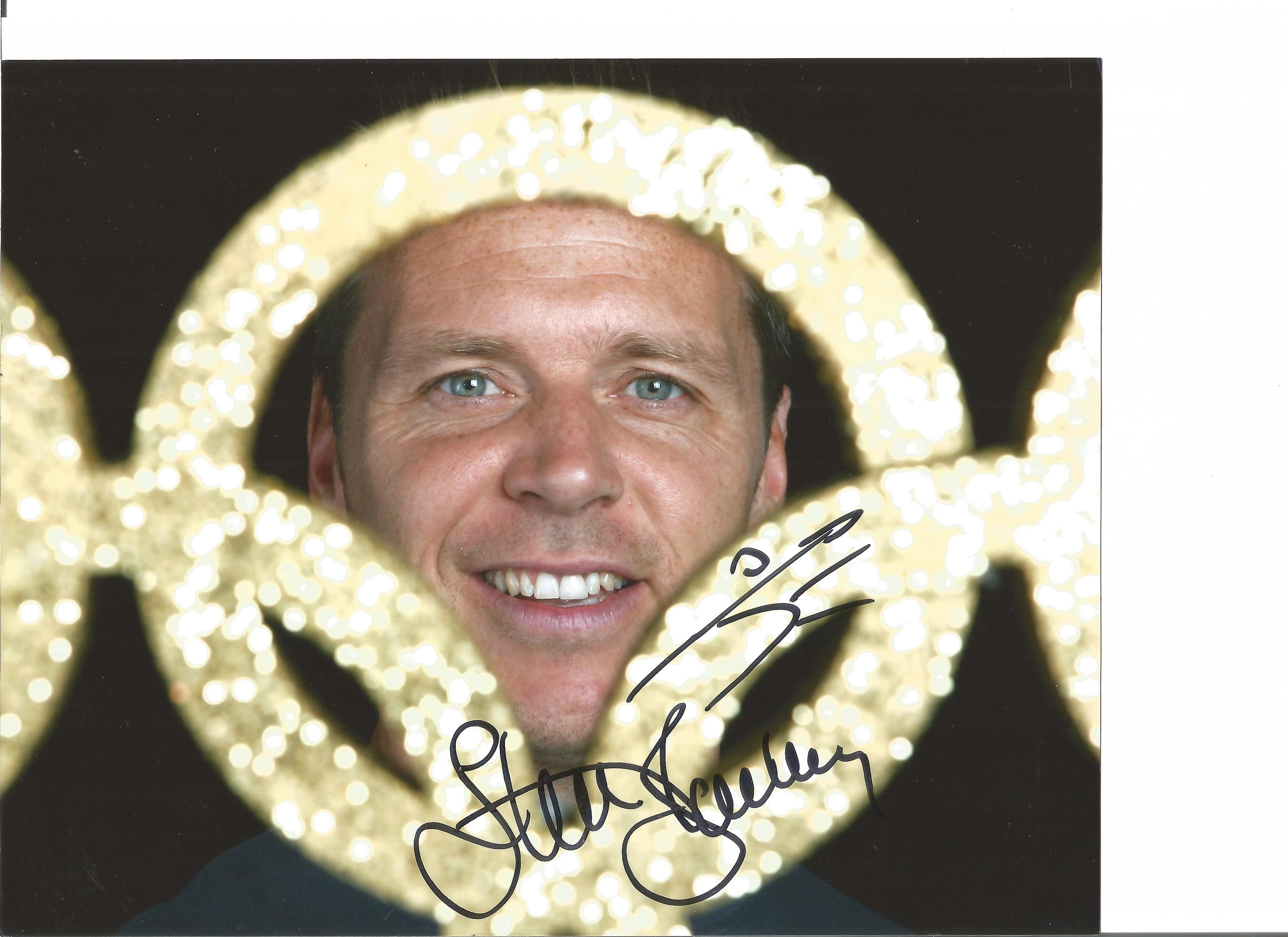 Lot 656 - Athletics Steve Backley 8x10 signed colour photo. Stephen James Backley, OBE born 12 February 1969