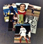 Football 70s collection 6 fantastic colour photos picturing some great names includes John Boyle,