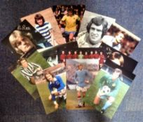 Football Legends collection 12 fantastic photos from some well-known names from the British game