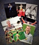Olympics collection 7 assorted 6x4 signed photos from some legendary names such as Brendan Foster,