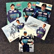 Motor Racing Red Bull Petronas collection 6 signed 6x4 promo photos signatures include Nick