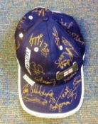 Football Tottenham Hotspur multi signed baseball cap signed by 18 of the 2001/2002 squad