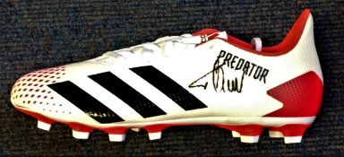 Football Timo Werner signed Adidas Predator boot, Timo Werner (born 6 March 1996) is a German