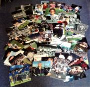 Football collection 100 fantastic signed photos from the British game from the 70s and 80s