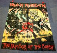 Iron Maiden linen poster flag collection. 3 included. Maiden Japan, Two minutes to midnight and