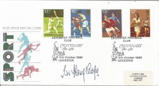 Boxing Sir Henry Cooper signed 1980 Sport FDC. Good Condition. All autographs are genuine hand