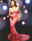 Music Freda Payne signed 12 x 8 inch colour photo. Good Condition. All autographs are genuine hand