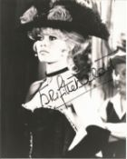 Brigitte Bardot signed 10x8 black and white photo. Good Condition. All autographs are genuine hand
