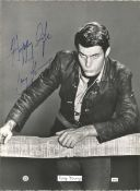 Tony Young signed 8x6 black and white photo. Good Condition. All autographs are genuine hand