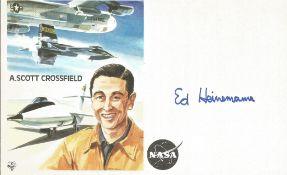 Ed Heinemann signed Test pilot cover. A/C designer for Douglas with over 20 combat aircraft. Good