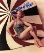 Virginia Mayo signed 10x8 colour photo. Virginia Mayo born Virginia Clara Jones; November 30, 1920 -