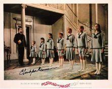 Christopher Plummer signed 14x10 The Sound of Music colour photo. Arthur Christopher Orme Plummer CC