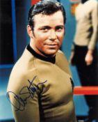 William Shatner signed 10x8 Star Trek colour photo. William Shatner OC born March 22, 1931, is a