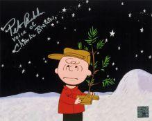Peter Robbins signed 10x8 Charlie Brown colour photo. Peter Robbins born Louis Nanasi, August 10,