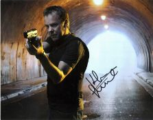 Kiefer Sutherland signed 14x12 colour photo picture in his role as Jack Bauer in the hit TV series