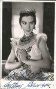 Svetlana Beriosova signed 6x4 black and white photo. LithuanianBritish prima ballerina who danced
