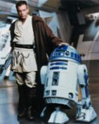 Ewan McGregor signed 10x8 Star Wars colour photo pictured in his role as ObiWan Kenobi. Good