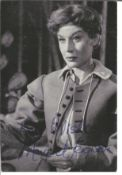 Margaret Leighton signed 6x4 black and white vintage photo. Margaret Leighton, CBE 26 February