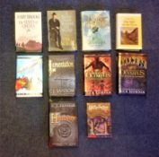 Hardback and Softback book collection 10 titles include Heartstone, Lamentation by C. J Sansom,
