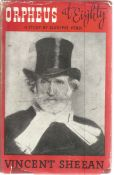 Orpheus At Eighty A Study of Giuseppe Verdi by Vincent Sheean. Unsigned hardback book with dust