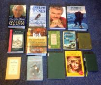 Hardback and Softback book collection 14 titles include Burt Reynolds My Life,Ranulph Fiennes Mind