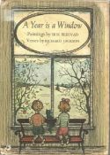 A Year is a Window by Richard Jackson. Childrens Unsigned unnumbered small hardback book with dust