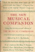 The New Musical Companion being the 22nd edition of the Musical Companion revised and completely