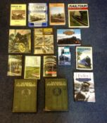 Railway Hardback and Softback book collection includes 15 titles such as Modern Rahway working Vol