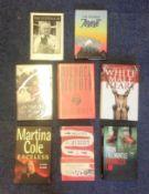 Hardback book collection 8 hardback books titles include This Human Season, What Countryman Sir,