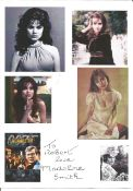 Bond Girl Madeline Smith 8x6 Live and Let Die signature piece dedicated. Madeline Smith (born 2