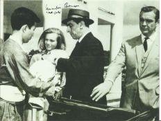 Martin Benson signed 10x8 James Bond Goldfinger black and white photo. Martin Benjamin Benson (10