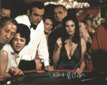 Bond Girl Lana Wood signed 10x8 Diamonds are Forever colour photo. Lana Wood (born Svetlana