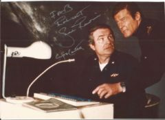 Shane Rimmer signed 9x6 James Bond Spy Who Loved Me colour photo pictured as Commander Carter.
