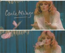 Bond Girl Carole Ashby signed 10x8 colour photo. Carole Ashby (born 24 March 1955 in Cannock,