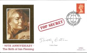 Shirley Eaton signed FDC 90th Anniversary The Birth of Ian Fleming Top Secret PM 28. 05. 98 Park