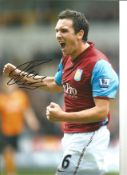 Stewart Downing Aston Villa Signed 12 x 8 inch football photo. This item is from the stock of www.