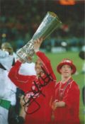 Gary McAllister Liverpool Signed 12 x 8 inch football photo. This item is from the stock of www.