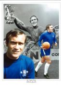 Ron Harris Chelsea Signed 16 x 12 inch football photo. This item is from the stock of www.