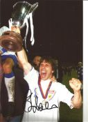 Gianfranco Zola Chelsea Signed 12 x 8 inch football photo. This item is from the stock of www.