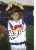 Alan Smith Arsenal Signed 12 x 8 inch football photo. This item is from the stock of www.