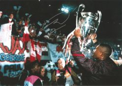 Winston Bogarte Ajax signed 12 x 8 football colour photo . This item is from the stock of www.