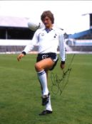 Glen Hoddle Tottenham Signed 16 x 12 inch football colour photo. This item is from the stock of