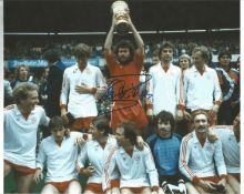 Paul Breitner Bayern Signed 12 x 8 inch football photo. This item is from the stock of www.