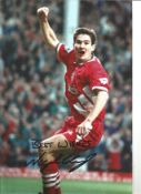 Nigel Clough Liverpool Signed 12x 8 inch football photo. This item is from the stock of www.