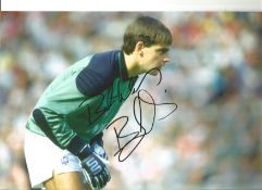Bobby Mimms Everton Signed 12 x 8 inch football photo. This item is from the stock of www.