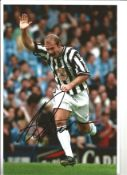 Alan Shearer Newcastle Signed 12 x 8 inch football photo. This item is from the stock of www.