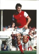 Malcolm Mcdonald Arsenal Signed 12 x 8 inch football photo. This item is from the stock of www.