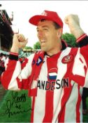 Mathew Le Tissier Southampton Signed 16 x 12 inch football photo. This item is from the stock of